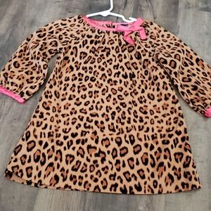 💜 3 for $19 💜 Baby Gap cheetah pattern dr